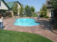 Oasis Fiberglass Pool in Valley Ford, CA