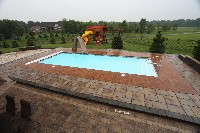 Oceanside Fiberglass Pool in Fairfax, VA